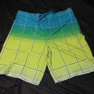 OP men's swim shorts size Large (36-38)